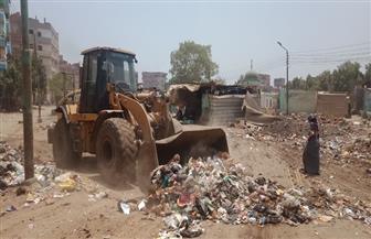محافظ الغربية: نقل 7 آلاف طن قمامة في 5 أيام إلى مصانع التدوير|صور
