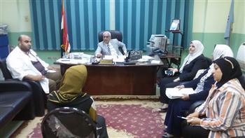 انعقاد لجنة المقابلة الشخصية للقبول بمدرسة تمريض مبرة المحلة الكبرى