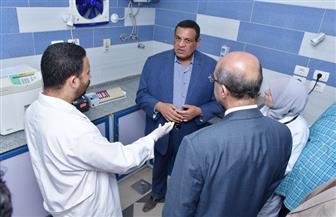 محافظ البحيرة يتفقد تطوير مستشفى الرحمانية ومحطة مياه الشرب | صور