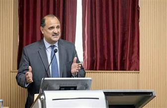 السفير المصري يلقي محاضرة بالمتحف الوطني الكوري حول تاريخ مصر المعاصر | صور