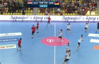 انتهاء الشوط الأول.. مصر تتقدم على ألمانيا 13/19 بنهائي كأس العالم لكرة اليد للناشئين