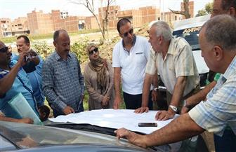رئيس حي ثان المحلة يتفقد أعمال مشروع الصرف الصحي بمنطقة الوزارية | صور