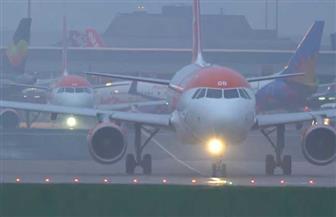 إلغاء 41 رحلة في مطار فرانكفورت بسبب سوء الأحوال الجوية