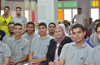 القوى العاملة تنظم ندوة لريادة الأعمال لـ 100 طالب وطالبة بجامعة الزقازيق | صور