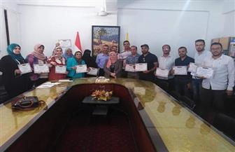 وكيل تعليم شمال سيناء تكرم مسئولي التطوير ومدربي التكنولوجيا | صور