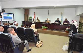 محافظة أسيوط تستعد لتنفيذ التدريب الميداني على خطة إدارة مخاطر السيول والأمطار   صور