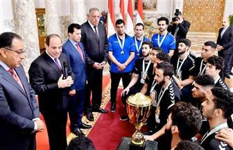 بسام راضي: الرئيس السيسي أعرب لمنتخب اليد للناشئين عن تقديره لهم ولكل من يرفع اسم مصر| فيديو
