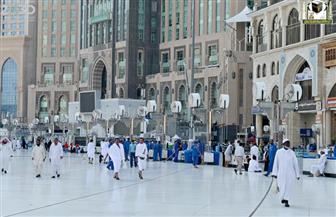 إزالة أجزاء في ساحات المسجد الحرام للاستفادة من مواقعها كمصليات
