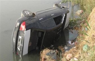 مصرع 4 أطفال من أسرة واحدة في حادث انقلاب سيارة بترعة في سوهاج