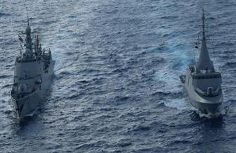 القوات البحرية المصرية والصينية تنفذان تدريبا بحريا عابرا بالبحر المتوسط| صور