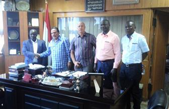 المراغي خلال لقائه الوفد الأوغندي: تعظيم التفاعل العمالي لدعم التنمية بإفريقيا ودول حوض النيل| صور