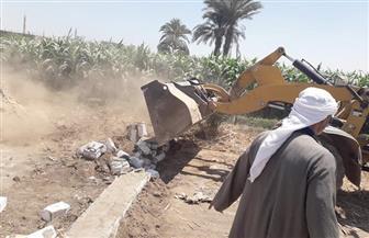 حملات لإزالة التعديات على نهر النيل وأراضي أملاك الدولة