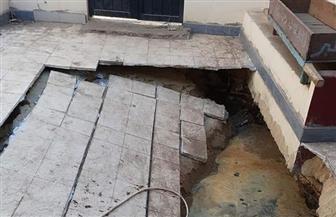أوقاف الأقصر توضح حقيقة حدوث انهيارات داخل مسجد العبادى بمنطقة الكرنك | صور