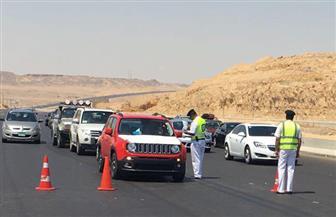 ضبط 2100 مخالفة في حملة مرورية على الطرق بالبحر الأحمر