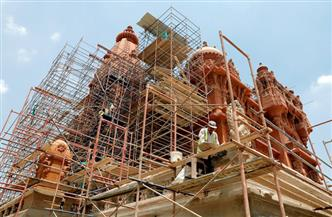 حقيقة تغيير الألوان الأصلية لقصر البارون الأثري في إطار مشروع الترميم