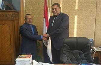 مساعد وزير الخارجية للشئون الإفريقية يلتقي سفير جمهورية تنزانيا الاتحادية