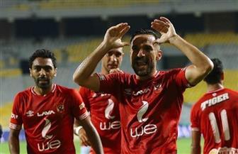 """بعد إخفاقه في كأس مصر.. الأهلي يصالح جمهوره بتسعة أهداف في شباك """"اطلع بره"""""""