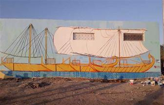 جدارية تاريخية و مشروع بحثي داخل مصنع الفوسفات خلال ورشة عمل التنمية المستدامة بالقصير | صور