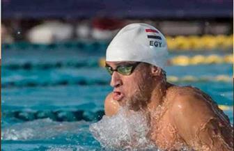 محمد سامي يحصد ذهبية ٥٠ متر صدر بسباحة ألعاب إفريقيا