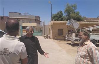 رئيس مدينة القصير يتفقد مبنى الحملة الميكانيكية ومحطة الصرف الصحي |صور