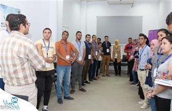 """34 مبادرة شبابية في ثالث معسكرات برنامج """"إيدك معانا"""" بالفيوم"""