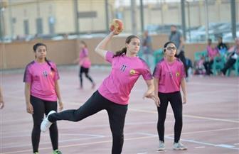 إيروسبورت يستضيف مباريات منتخب يد السيدات | صور