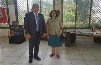 السفيرة المصرية في بوروندي تستقبل الممثل الإقليمي لمنظمة اليونسكو بمنطقة وسط إفريقيا