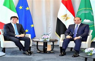 تفاصيل لقاء الرئيس السيسي ورئيس وزراء إيطاليا على هامش فعاليات قمة مجموعة الدول السبع صور وفيديو