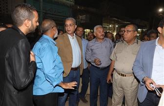 محافظ سوهاج يوجه بتنفيذ قرارات الإزالة ضد المتعدين على طرح النيل بعزبة الصفيح | صور