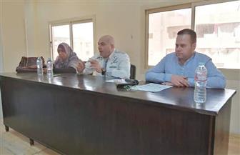 رئيس مدينة الطود بالأقصر يناقش ميكنة تفعيل الخدمات الحكومية | صور