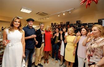 الموضة والنبيذ والمخبوزات الفرنسية حاضرة فى ملتقى زوجات قادة قمة السبع | صور