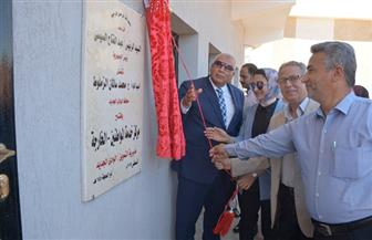 افتتاح مركز الخدمات التموينية المطور بالخارجة   صور