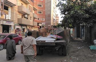 حملات مكثفة لإزالة الإشغالات بمركزي تلا وأشمون بالمنوفية | صور
