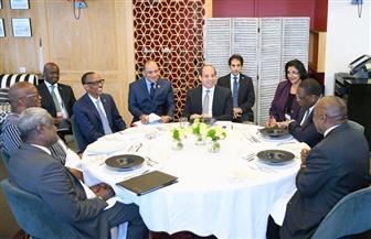 الرئيس السيسي يستقبل رؤساء رواندا والسنغال وجنوب إفريقيا وبوركينا فاسو على هامش قمة مجموعة السبع | فيديو وصور