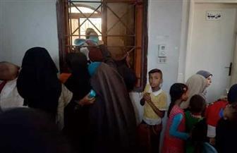 الكشف على 630 مريضا في قافلة طبية بقرية بنى حميل فى سوهاج| صور