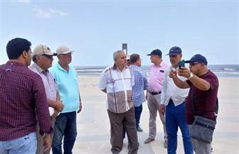 """مساعد نائب رئيس """"المجتمعات العمرانية"""" يتفقد المشروعات المختلفة بمدينة المنصورة الجديدة صور"""