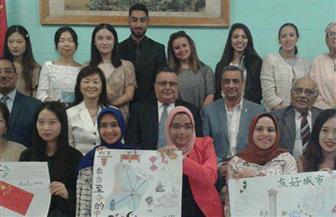 ختام فعاليات المعسكر الدولي المصري الصيني الأول بجامعة الإسكندرية | صور