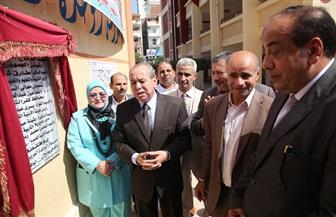 محافظ كفرالشيخ يفتتح مدرسة الوحدة العربية الابتدائية بتكلفة 6.2 مليون جنيه | صور