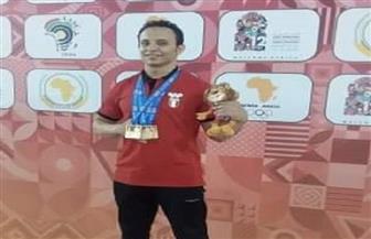 الرباع المصري أحمد سعد يحصد 3 ذهبيات في دورة الألعاب الإفريقية