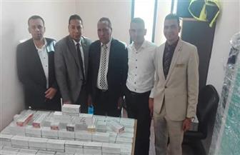 جمارك مطار مرسى علم تحبط محاولة تهريب كمية من فلاتر السجائر الإلكترونية| صور