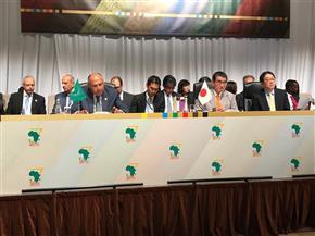 """وزير الخارجية يرأس مع نظيره الياباني الاجتماع الوزاري التحضيري لقمة """"تيكاد 7"""""""
