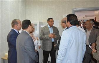 محافظ البحيرة يدعم وحدة زمزم الصحية خلال زيارته مركز شبراخيت  صور