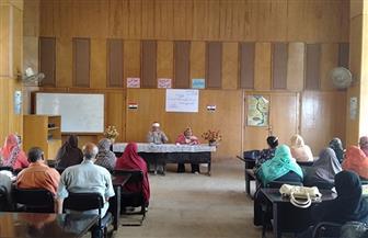 مناقشة دور مؤسسات المجتمع المدني في مواجهة العنف ضد المرأة خلال ندوة بالغربية| صور