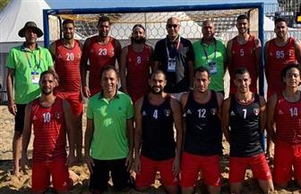 مصر تواجه إيطاليا بربع نهائي كرة اليد الشاطئية بدورة ألعاب البحر المتوسط