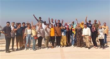 """القوات المسلحة تنظم زيارات لشباب من المصريين بالخارج إلى """"قوات الصاعقة"""" والكلية الجوية ومشروع الجلالة"""