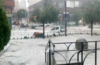 فيضانات في مدريد وضواحيها.. والمترو والمواصلات خارج الخدمة
