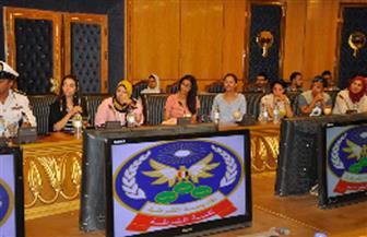 أكاديمية الشرطة تستقبل وفد شباب الجاليات المصرية بالخارج
