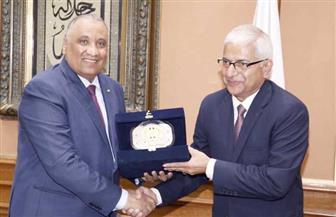 رئيس هيئة الرقابة الإدارية يستقبل سفير دولة نيبال لبحث التعاون المشترك