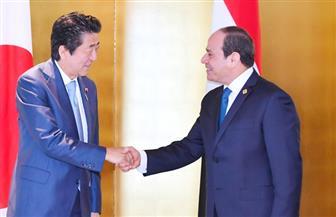 """الرئيس السيسي وشينزو آبي وجوتيريش يتحدثون في الجلسة الافتتاحية لقمة """"تيكاد 7"""""""