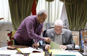 محافظ جنوب سيناء يوقع عقد إقامة سوق حضاري متكامل بطور سيناء